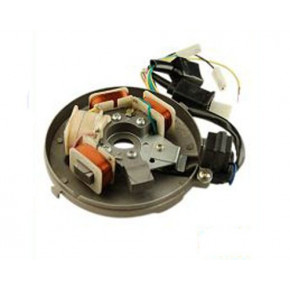 STATOR ALLUMAGE PEUGEOT 103 ELECTRONIQUE AVEC BOBINE + PLATINE (6 volts)