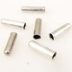 6 EMBOUTS DE CABLES Ø INTÉRIEUR 2.2mm COMPATIBLE POUR LES MOBYLETTE MOTOBECANE PEUGEOT etc.