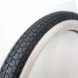 PNEU 18 MITAS (SAVA) 2-1/4x18 B4 FLANC BLANC Mobylette Motobécane Motoconfort