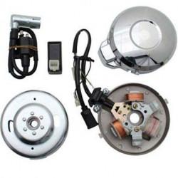 ALLUMAGE ELECTRONIQUE ADAPTABLE PEUGEOT 101 102 103 sp mvl spx 104 105 gt10 gl10 bb. (Gros Cône)
