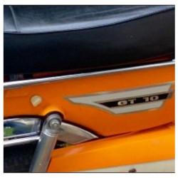 Bombe De Peinture Orange Brillant Avec Durcisseur Pour Peugeot GT10