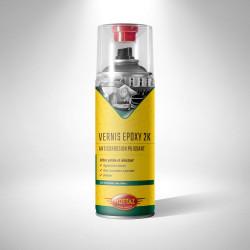 Vernis Epoxy Ultra résistant, Forte adhérence pour les Mobylette Motobecane peugeot etc.