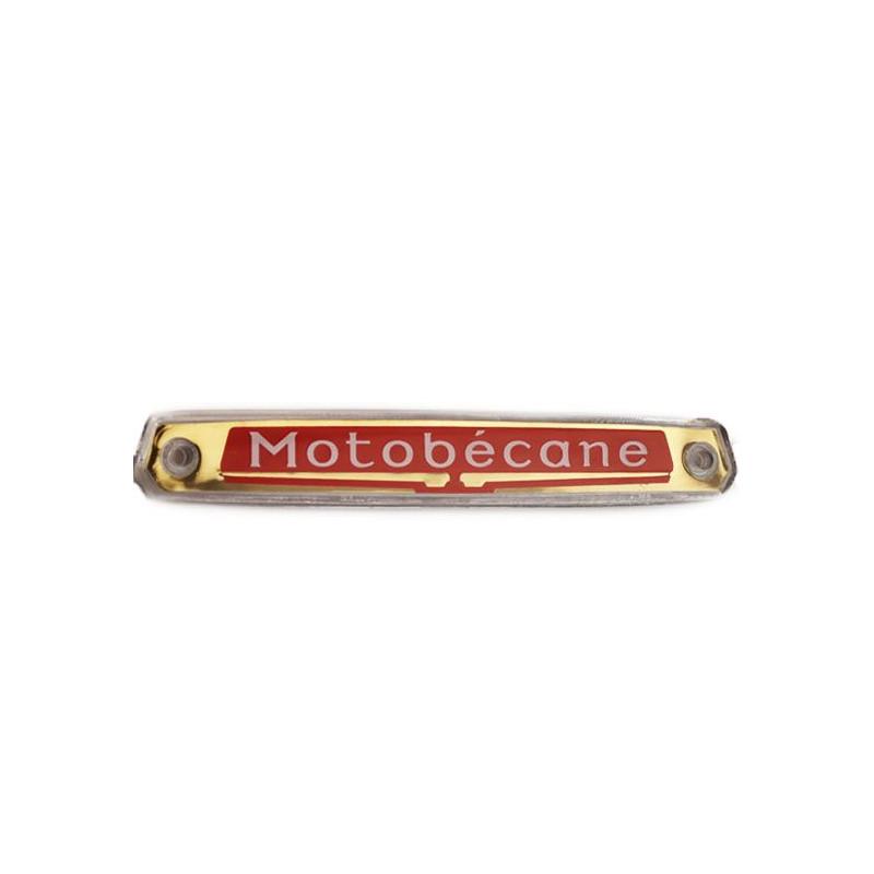 """Monogramme / Logo """"Motobécane"""" de réservoir pour les Mobylette Motobécane AV88 AV85"""