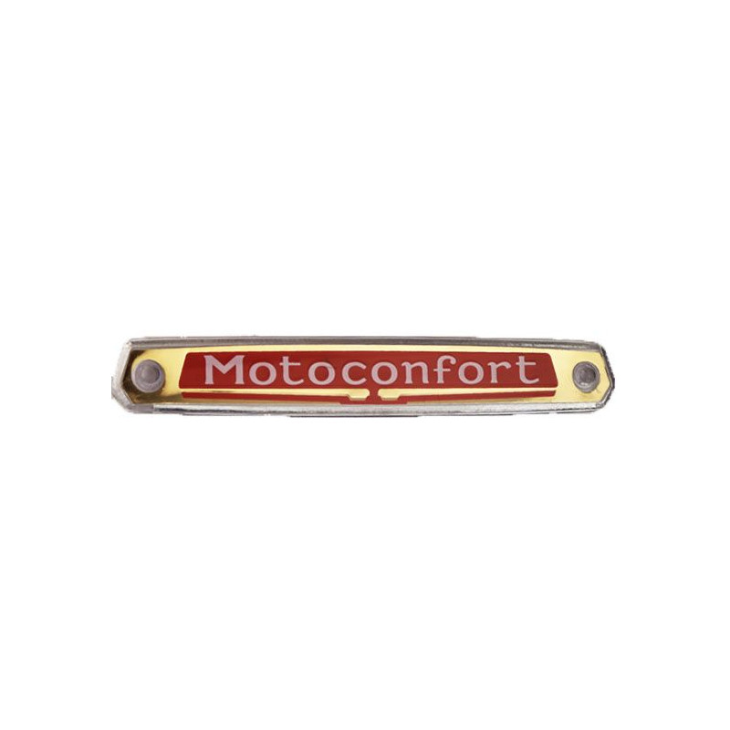 """Monogramme / Logo """"Motoconfort"""" de réservoir pour les Mobylette Motoconfort AU88 AU85 92 94 etc."""