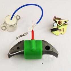 Bobine Interieur Haute Tension + Rupteur et Condensateur LAUTER Mobylette Motobecane
