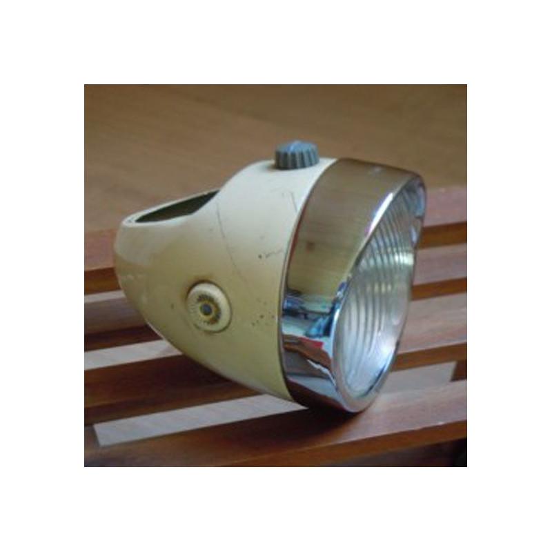 Bombe De Peinture Jaune paille / crème type AV43-48 Pour Mobylette Motobecane Motoconfort