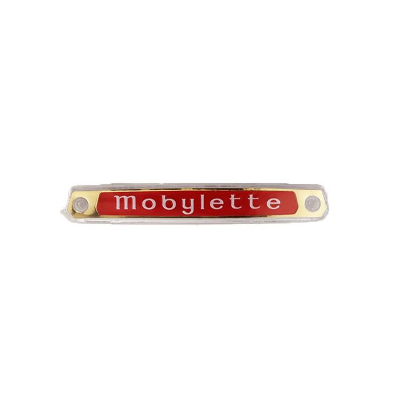 """Monogramme / Logo Rouge """"Mobylette"""" de réservoir pour les Mobylette Motobécane 50 / 92"""